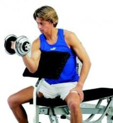 Kettler Curlpult Delta Uitbreiding bicepstraining