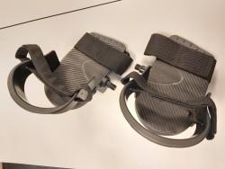 Hometrainer revalidatie pedalen met voetenbak